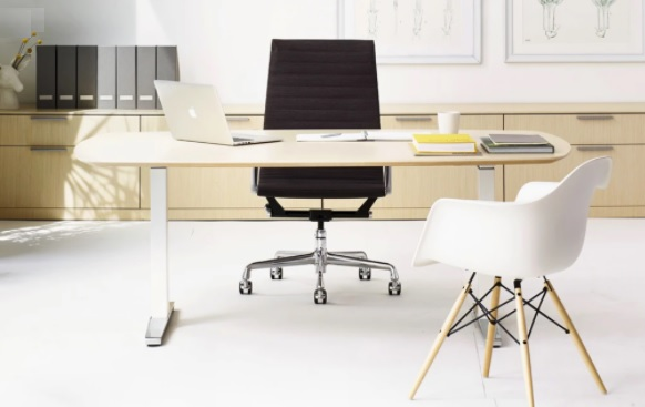 Sit stand home office desk