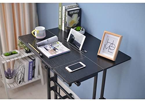 LaCyan Adjustable Height Standing Computer Desk